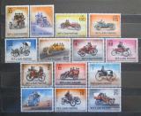 Poštovní známky San Marino 1962 Historické automobily Mi# 704-18
