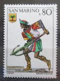 Poštovní známka San Marino 1973 Historická uniforma Mi# 1053