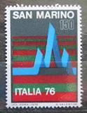 Poštovní známka San Marino 1976 Výstava ITALIA Mi# 1122