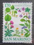 Poštovní známka San Marino 1977 Léčivé rostliny Mi# 1148