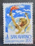 Poštovní známka San Marino 1978 Deklarace lidských práv, 30. výročí Mi# 1168