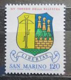 Poštovní známka San Marino 1979 Emblém střelců z kuše Mi# 1180