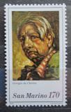 Poštovní známka San Marino 1979 Umění, Giorgio de Chirico Mi# 1200