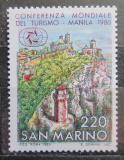 Poštovní známka San Marino 1980 Hrad na Monte Titano Mi# 1220