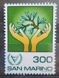 Poštovní známka San Marino 1981 Mezinárodní rok postižených Mi# 1229