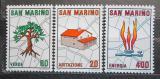 Poštovní známky San Marino 1981 Plánování měst Mi# 1237-39