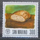 Poštovní známka San Marino 1981 Umění, Bruno Caruso Mi# 1241