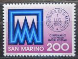 Poštovní známka San Marino 1982 Poštovní razítko Mi# 1248