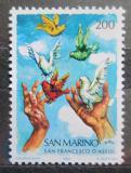 Poštovní známka San Marino 1982 Holubice míru Mi# 1263