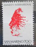 Poštovní známka San Marino 1982 Amnesty International, 20. výročí Mi# 1266