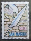 Poštovní známka San Marino 1983 Gymnázium, 100. výročí Mi# 1277