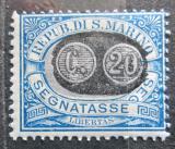 Poštovní známka San Marino 1931 Doplatní Mi# 35