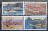 Poštovní známky Namíbie, SWA 1981 Kaňon Rybí řeky Mi# 500-03