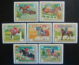 Poštovní známky Rovníková Guinea 1972 LOH Mnichov, parkur Mi# 126-32