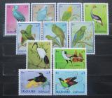 Poštovní známky Manáma 1969 Ptáci TOP SET Mi# 159-69