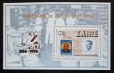 Poštovní známka Zair 1986 Pošta, 100. výročí Mi# Block 57