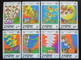 Poštovní známky Zair 1982 Den ITU Mi# 747-54