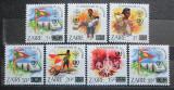 Poštovní známky Zair 1985 Skauti, přetisk Mi# 915-21 Kat 11€