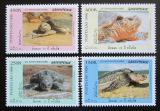 Poštovní známky Laos 1996 Mořské želvy Mi# 1547-50 Kat 8€