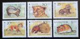 Poštovní známky Kazachstán 1993 Místní fauna Mi# 31-36