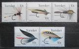 Poštovní známky Transkei, JAR 1982 Rybářské mušky Mi# 98-102