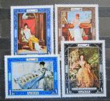 Poštovní známky Adžmán 1969 Umění Mi# 430-33