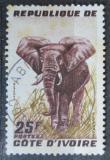 Poštovní známka Pobřeží Slonoviny 1959 Slon africký Mi# 205