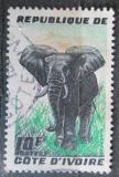 Poštovní známka Pobřeží Slonoviny 1959 Slon africký Mi# 204