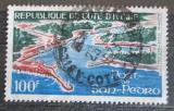 Poštovní známka Pobřeží Slonoviny 1971 Přístav San Pedro Mi# 375