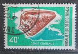 Poštovní známka Pobřeží Slonoviny 1971 Mušle Mi# 378