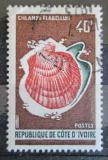 Poštovní známka Pobřeží Slonoviny 1971 Mušle Mi# 393