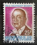 Poštovní známka Pobřeží Slonoviny 1986 Prezident Félix Houphouet-Boigny Mi# 906