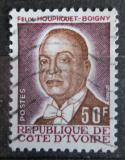 Poštovní známka Pobřeží Slonoviny 1986 Prezident Félix Houphouet-Boigny Mi# 908