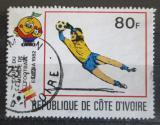 Poštovní známka Pobřeží Slonoviny 1981 MS ve fotbale Mi# 696