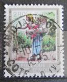 Poštovní známka Pobřeží Slonoviny 1995 Žena s košem Mi# 1132