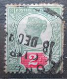 Poštovní známka Velká Británie 1887 Královna Viktorie Mi# 88 Kat 10€