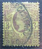 Poštovní známka Velká Británie 1887 Královna Viktorie Mi# 90 a