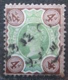Poštovní známka Velká Británie 1887 Královna Viktorie Mi# 91 Kat 12€