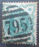 Poštovní známka Velká Británie 1900 Královna Viktorie Mi# 100