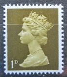 Poštovní známka Velká Británie 1968 Královna Alžběta II. Mi# 453