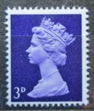 Poštovní známka Velká Británie 1967 Královna Alžběta II. Mi# 455