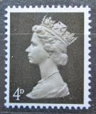 Poštovní známka Velká Británie 1967 Královna Alžběta II. Mi# 456