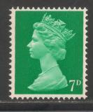 Poštovní známka Velká Británie 1968 Královna Alžběta II. Mi# 459