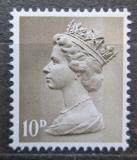 Poštovní známka Velká Británie 1968 Královna Alžběta II. Mi# 462