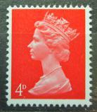 Poštovní známka Velká Británie 1969 Královna Alžběta II. Mi# 496