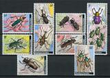 Poštovní známky Rwanda 1978 Brouci Mi# 930-39 Kat 8.50€