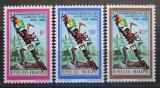 Poštovní známky Rwanda 1974 Revoluce, 15. výročí Mi# 667-69 Kat 18€