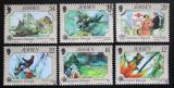 Poštovní známky Jersey, Velká Británie 1988 Operace Raleigh Mi# 447-52 Kat 6.50€
