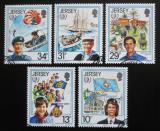 Poštovní známky Jersey 1985 Mezinárodní rok mládeže Mi# 350-54 Kat 5€