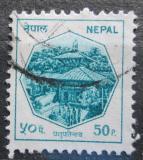 Poštovní známka Nepál 1987 Pashupatinath, Katmandu Mi# 476